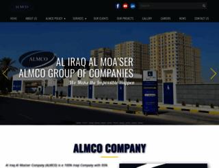 almcogroup.com screenshot