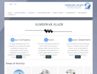 almehwar.org screenshot