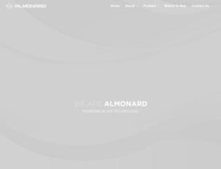 almonard.co.in screenshot