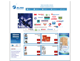 alnaaerodistribution.com screenshot