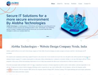 alobhatechnologies.com screenshot