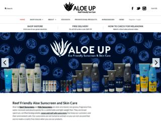 aloeup.co.nz screenshot
