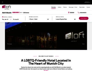 aloftmunichhotel.com screenshot