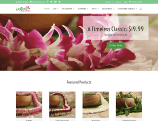 alohaislandlei.com screenshot