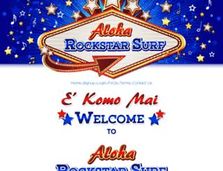 aloharockstarsurf.com screenshot