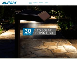 alpan.com screenshot