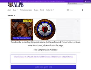 alpb.org screenshot