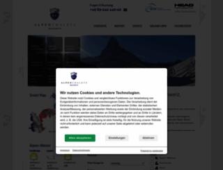 alpen-chalets.de screenshot