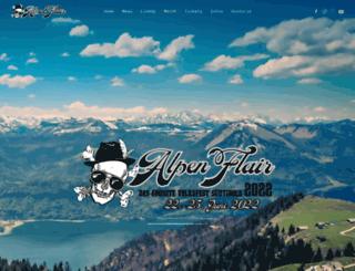 alpen-flair.com screenshot