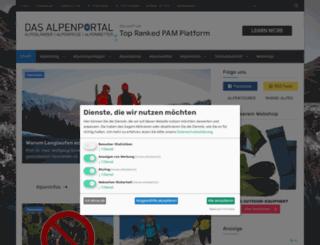 alpen-journal.de screenshot