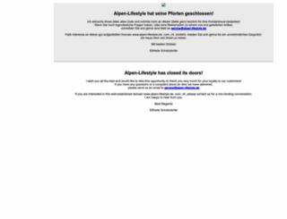 alpen-lifestyle.com screenshot