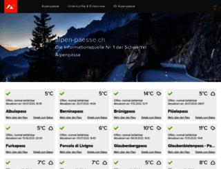 alpen-paesse.ch screenshot
