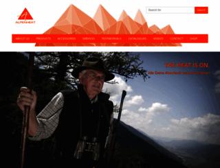 alpenheat.com screenshot