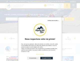 alpes-ski-resa.com screenshot