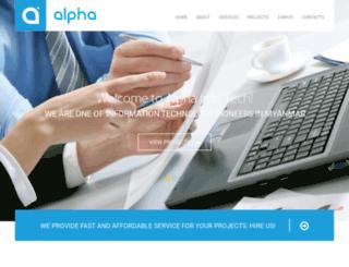 alpha.com.mm screenshot
