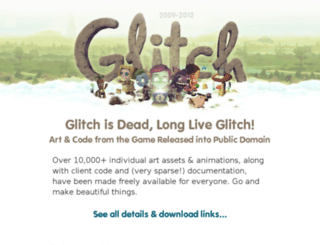 alpha.glitch.com screenshot