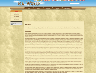 alpha.ika-world.com screenshot