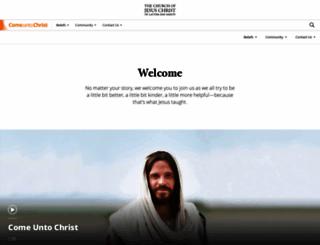 alpha.mormon.org screenshot