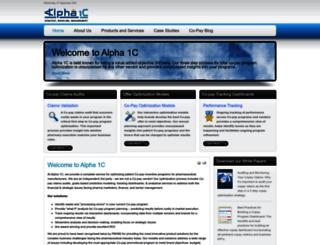 alpha1c.com screenshot