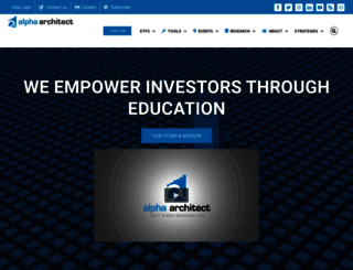 alphaarchitect.com screenshot