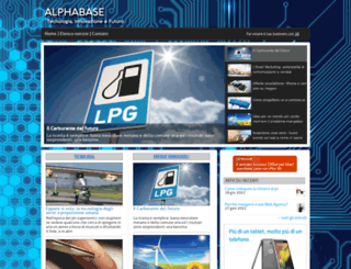 alphabase.it screenshot