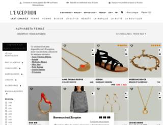 alphabeta.lexception.com screenshot