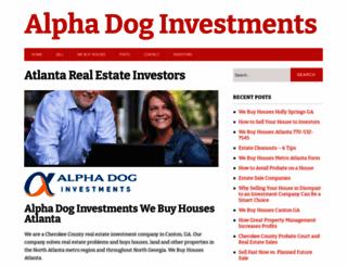 alphadoginvestments.com screenshot