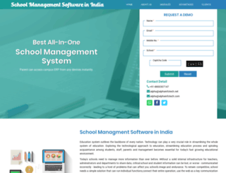 alphainfotech.com screenshot