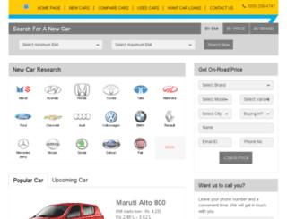 alphalnt.gaadi.com screenshot