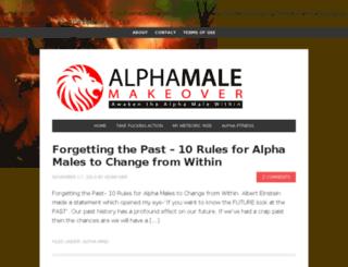 alphamalemakeover.com screenshot
