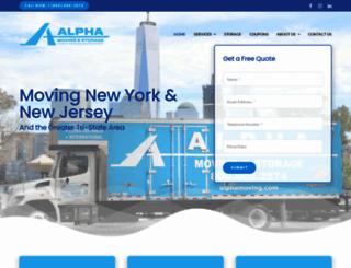 alphamoving.com screenshot