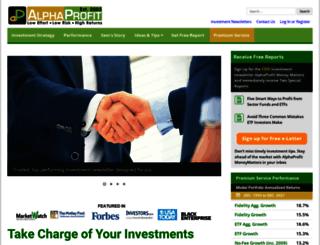 alphaprofit.com screenshot