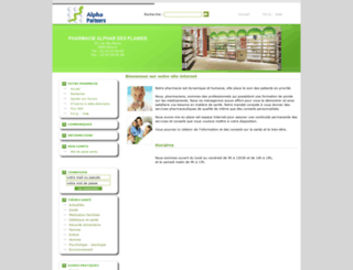 alphar1.pharmattitude.be screenshot