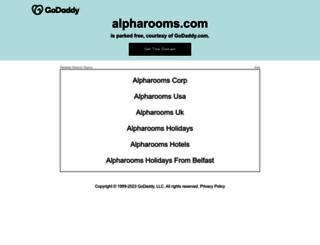 alpharooms.com screenshot