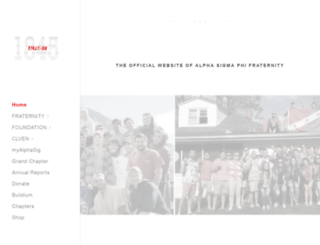 alphasigmaphi.org screenshot