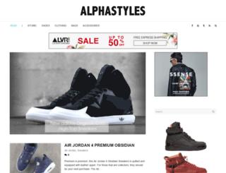 alphastyles.com screenshot