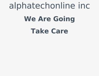 alphatechonline.com screenshot