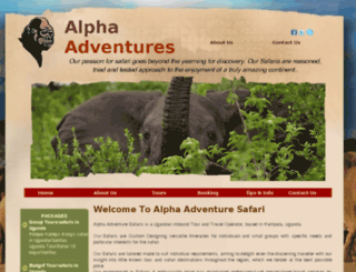 alphatouring.com screenshot