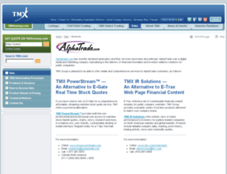 alphatrade.com screenshot