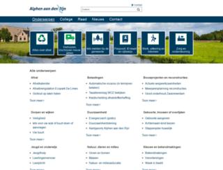 alphenaandenrijn.info screenshot