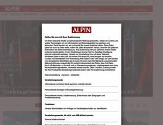 alpin.de screenshot