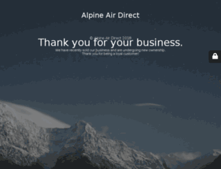 alpineairdirect.com screenshot