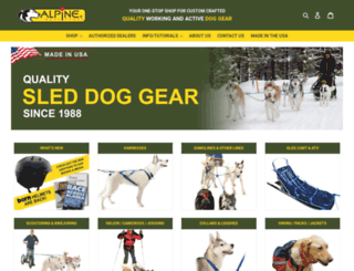 alpineoutfitters.net screenshot