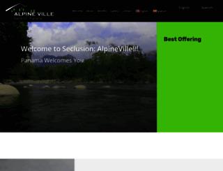 alpineville.com screenshot