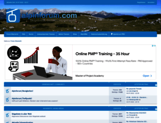 alpinforum.com screenshot