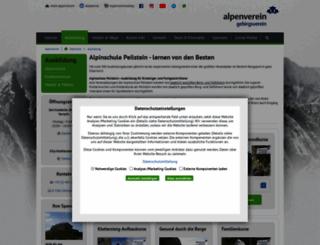 alpinschule-peilstein.at screenshot