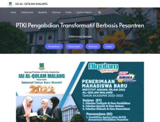 alqolam.ac.id screenshot