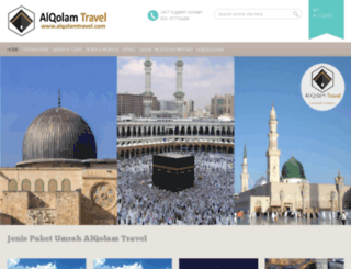 alqolamtravel.com screenshot