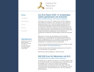 als-hilfe.org screenshot