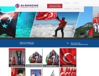 alsancakbayrak.com.tr screenshot